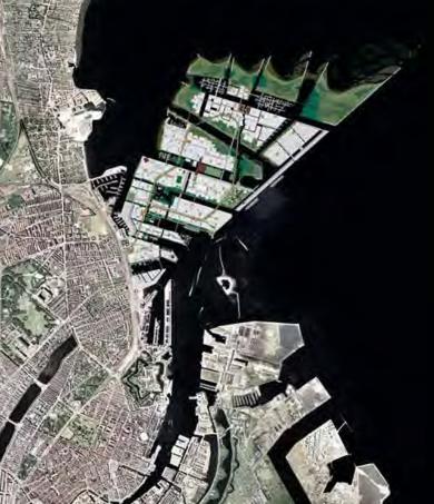 Fra konkurrencen i 2009 om Nordhavns udbygning