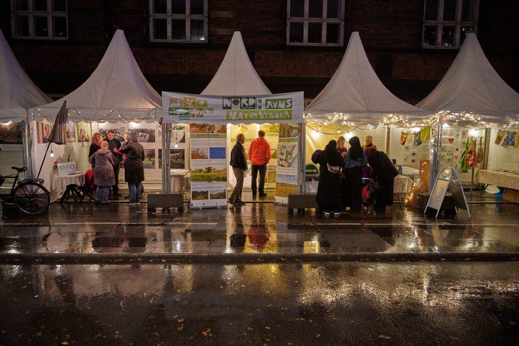 Nordhavns Naturvenner var der og det regnede og regnede